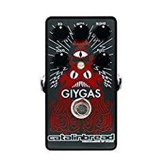 Super aggressive yet buttery and violin-like, the Giygas is the most powerful fuzz weapon in the known universe The core of the fuzz circuit is brawny and fierce, yet with plenty of violin-like sustain and articulation on tap, and the entire thing is...