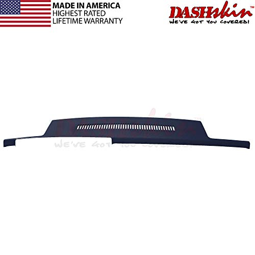 DashSkin Molded Dash Cover Compatible 88-94 GM Trucks in Dark Blue