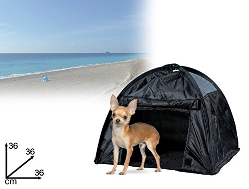 mws Tenda Pop Up per Animali di Piccola Taglia 36 x 36 x 36 cm con Finestra