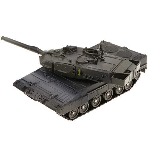 Toygogo Kids Tank MIT Sounds UND Lights Friction FÜR Kinder Spielzeug - Leopard 2