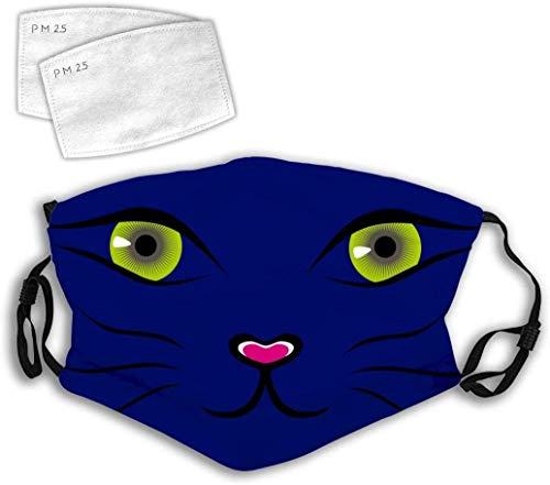 YeeATZ Gato de dibujos animados Clip Art Lindo de dibujos animados nariz de gato 3D Diseño personalizado de moda cómodo ajustable decoraciones faciales