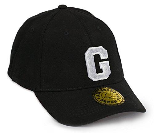 Casquette de Baseball Snap Back Bonnet Cap Chapeau Snapback 3D Gothique A-Z Hip-Hop (G)