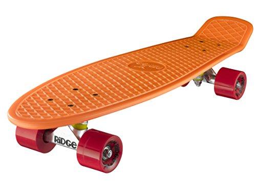 Ridge Retro 27 - Skateboards, color naranja y rojo, 68 cm (28'')