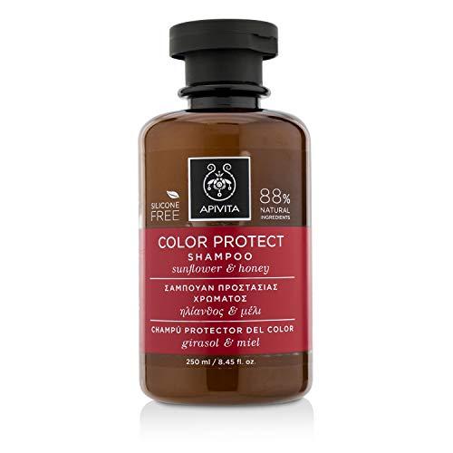 Apivita Color Protect Shampoo with Sunflower & Honey 250ml