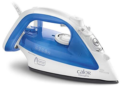 Calor FV3920 - Plancha (Plancha vapor-seco, Suela de Durilium, 2 m, 120 g/min, Azul, Blanco, 35 g/min)