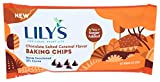 Lily's Chocolate Baking Chips Chocolate Salted Flavor, Caramel, 9 Oz