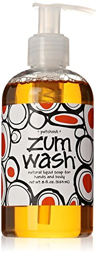 Indigo Wild Zum Wash Liquid Soap, Patchouli, 8 Fluid Ounce