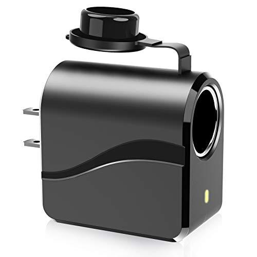 12V AC to DC Converter 2A 24W Transformer 110V/120V AC to 12V DC Adapter Transformer Car Cigarette Lighter Socket