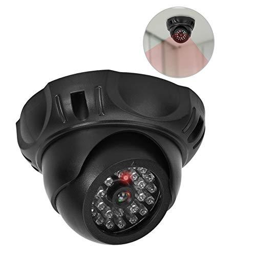 Gesimuleerde bewakingscamera's, rood LED-licht Dummy Fake Security Monitor CCTV-domecamera Binnen- en buitengebruik Dummy-camera voor thuis en zakelijk gebruik