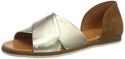 Apple of Eden Chiusi dames open sandalen met sleehak