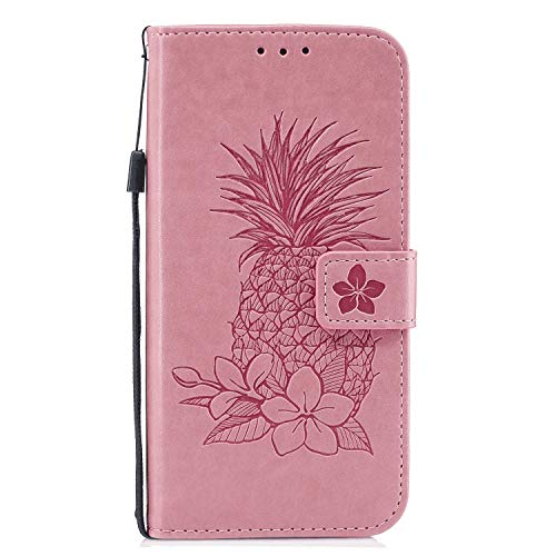 Save %7 Now! Flip Case for iPhone XR, Leather Cover Business Gifts Wallet with Extra Waterproof Unde...