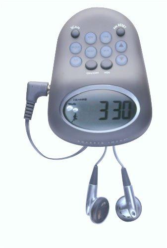Sharper Image FM Pedometer SR353 HR-887