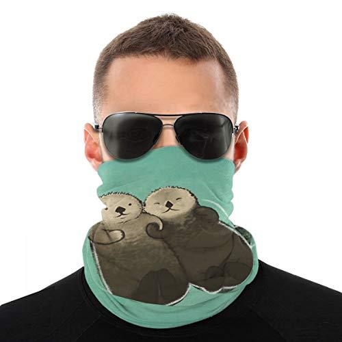 Fedso Schnittmuster Otter Gesichtsschutz Vielfalt Kopftuch Sturmhaube Halstuch Bandana Gaiter Kopfbedeckung Outdoor Halstuch atmungsaktiv UV-Schutz