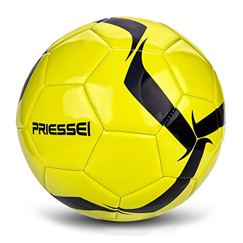 Priessei Football Training Ball Size 5 Official Indoor & Outdoor Soccer Ball Professional Match ball(green)