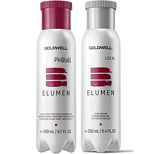 Goldwell Elumen Haarfarbe [RR@all Rot] 200ml + 250ml Lock