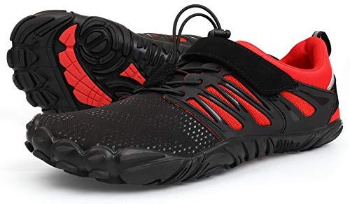 WHITIN Zapatilla Minimalista de Barefoot Trail Running para Mujer...