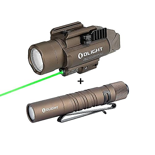 OLIGHT Baldr Pro 1350 Lumens Tactical Weaponlight with Green...