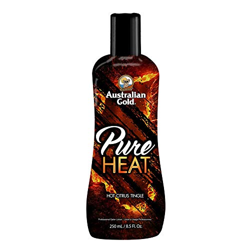 Australian Gold Pure Heat Tanning Lotion Hot Citrus Tingle