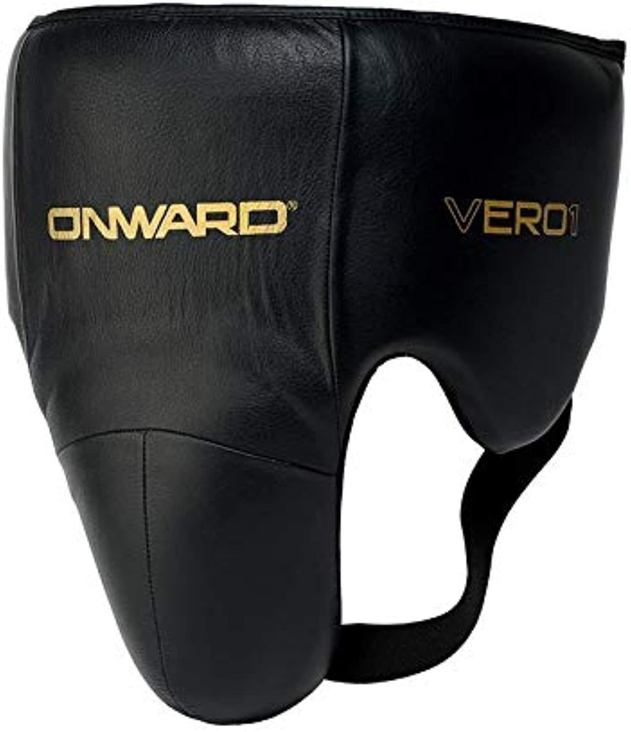 Onward No Foul Guard - Leather Professional Groin Guard - Reinforced Cup with Lace Closure System
