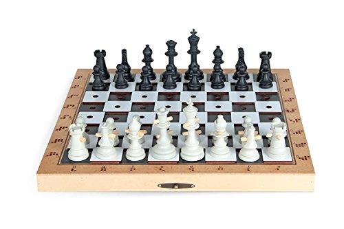 Jogo de Xadrez Adaptado Rei Carlu Brinquedos