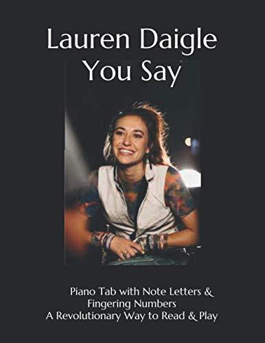 Lauren Daigle You Say: Piano Tab