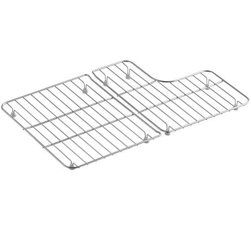 Lifetime Appliance K-6639-ST Bottom Basin Stainless Steel Racks Compatible with Kohler Whitehaven Sink