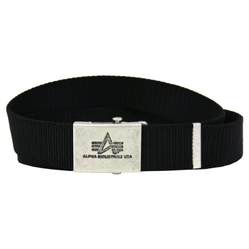 Alpha Industries Gürtel Heavy Duty Belt black - Einheitsgrösse - verstellbar
