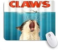 NIESIKKLAマウスパッド 居眠り猫と水泳女性パターンデジタルプリント ゲーミング オフィス最適 高級感 おしゃれ 防水 耐久性が良い 滑り止めゴム底 ゲーミングなど適用 用ノートブックコンピュータマウスマット