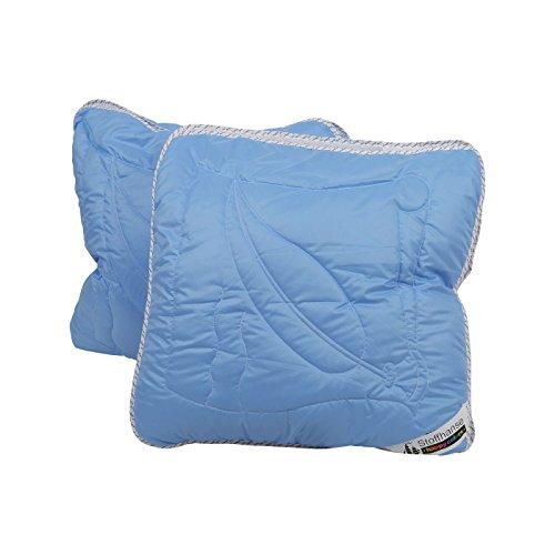 Stoffhanse Kopfkissen 2er Set blau | Bettwaren | Kopf-Kissen | nach Öko-Tex Standard