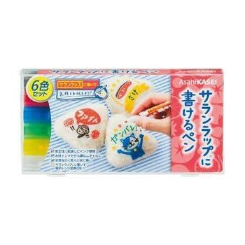 サランラップに書けるペン6色セット × 3個セット