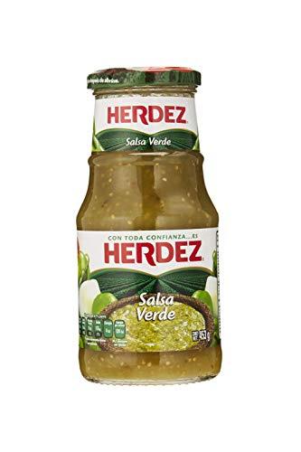 Grüne Soße aus Mexiko, Glas 445g - Salsa Verde HERDEZ 443g