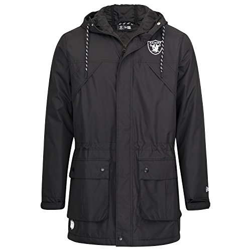 New Era Tech Series Oakland Raiders Herren Jacke M schwarz