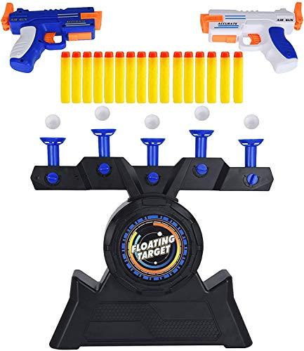 Schwimmendes Zielspiel für Nerf, Zielscheibe für Nerf Hover Zielscheibe Schießen Schwimmdock Zielsatz Elektrisches Spielzeug, Hover Floating Shooting Target Foam Dart Blasters für Kinder