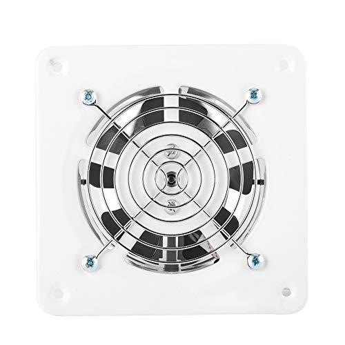 Vobor❤❤Absaugventilator 4 Zoll Abluftventilator an der Wand montierte geräuscharme Garage Belüftungsöffnung Belüftung 100M für Badezimmer-Küche-Badezimmer-Abluftventilator, Küchen-Abluftventilator.