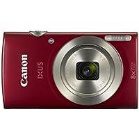 "Canon Digital IXUS 185 Cámara compacta 20MP 1/2.3"" CCD 5152 x 3864Pixeles Rojo - Cámara Digital (20 MP, 5152 x 3864 Pixeles, CCD, 8X, HD-Ready, Rojo)"