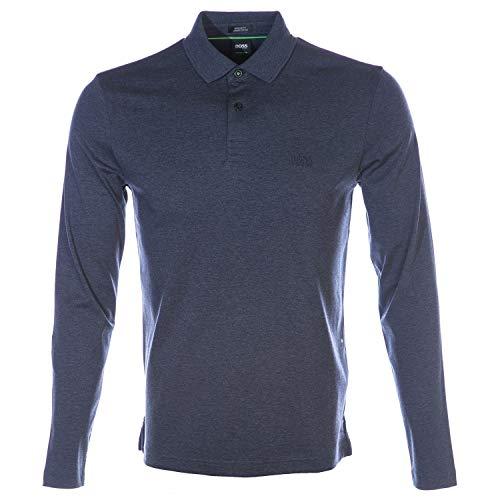BOSS mens Polo Polo Shirt Pirol, Blau (413), 4XL
