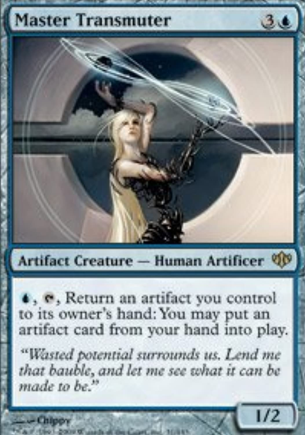 Magic  the Gathering  Master Transmuter  Conflux