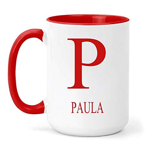 Paula - Taza, diseño con texto en inglés