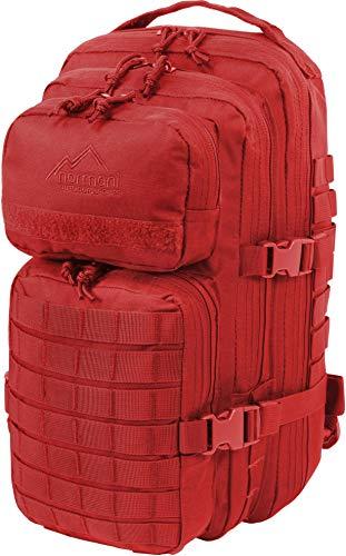 normani US Rucksack I Daypack - Praktischer Rucksack der US Army Farbe Signalrot