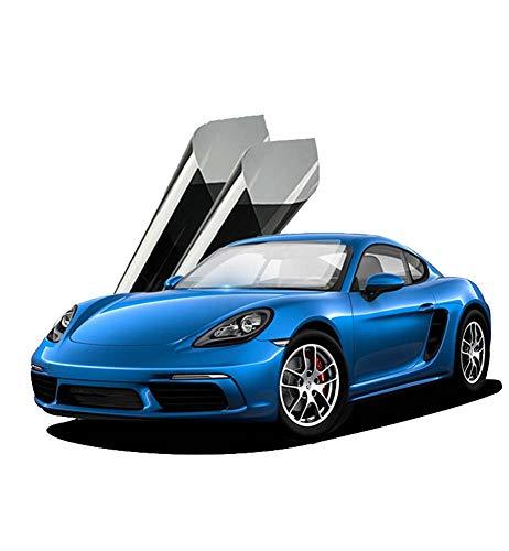 Voorruit Black Film, One-Way Perspective blokkeren Infrarood het verminderen van de temperatuur in de auto, de hele auto Glass Film