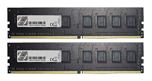GSkill F4-2400C15D-8GNT Memory D4 2400 8GB C15 NT K2 2X 4GB, 1,2V, schwarz - schwarz