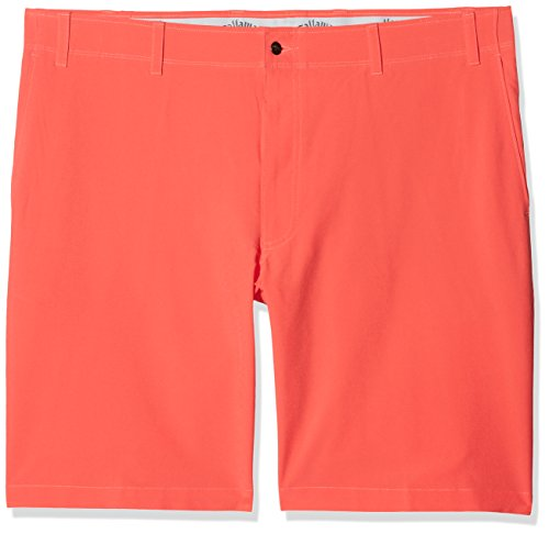 Callaway Chev Tech Short II Short de Golf, Homme, Homme, CGBS7084_30, Rose Corail (Coral), 30