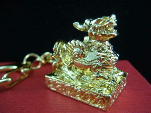 Decor Feng Shui Pi Super special Superlatite price Yao Keychain Fortune for and Protection Good