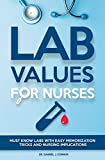 Lab Values for Nurses: Must Know Labs with Easy Memorization Tricks and Nursing Implications