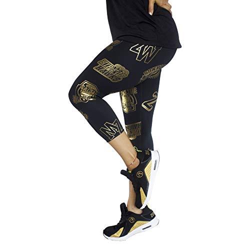 Zumba Fitness® Métallique Compression de Fitness Pantalon Femmes Faire Des Exercices Sport...