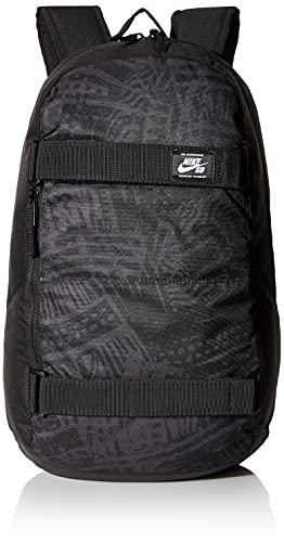 NIKE Nk SB Crths Bkpk-AOP Fa20 Sports Backpack, Hombre, Black/Black/(White), MISC