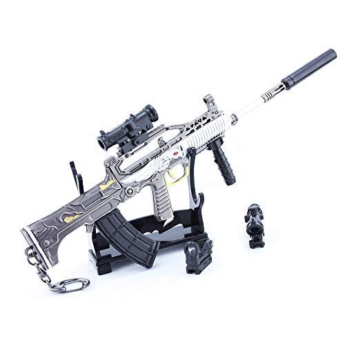 Legend Series 95 - Llavero para rifle (escala 1/4), diseño de mochila de regalo, suministros para fiestas, decoración de escritorio (B)