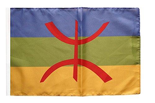 Flagge / Fahne Berber Amazigh + gratis Sticker, Flaggenfritze®