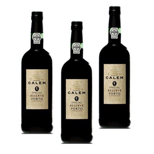 Vino de Oporto Calem Special Reserva - Vino Fortificado- 3 Botellas