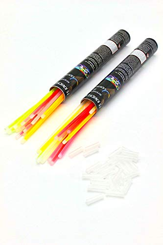 joka international GmbH Knicklichter 2X 15 Stück Glowsticks Leuchtstäbe Neonstick Partylichter 14417